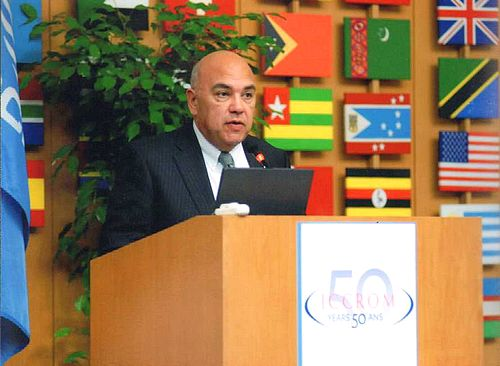 Dr Ray Bondin elected Vice President of ICCROM General Assembly