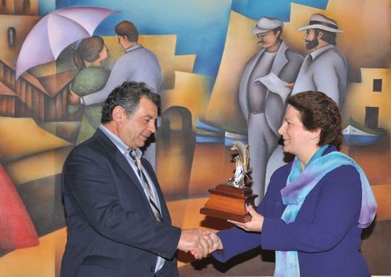 Gozo Worker of the Year Award in Tourism - 2009
