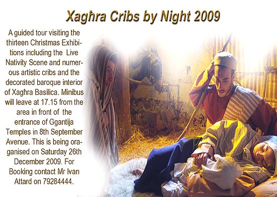 Christmas in Xaghra organises 'Xaghra Cribs by Night'
