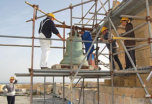 Restoration works begin at Fort St Angelo