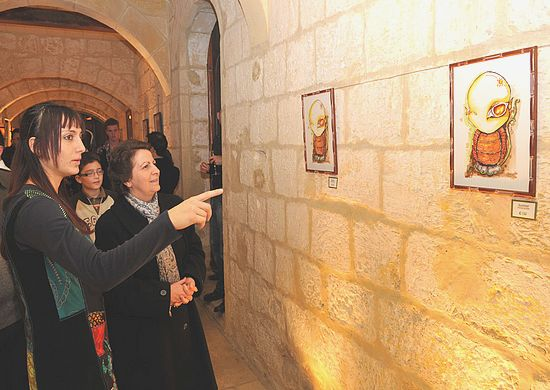Art exhibition inaugurated at the Cittadella Centre