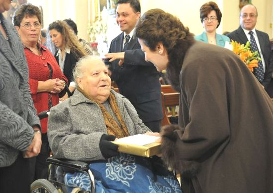 100th birthday celebration for Mrs Maria Giovanna Rapa