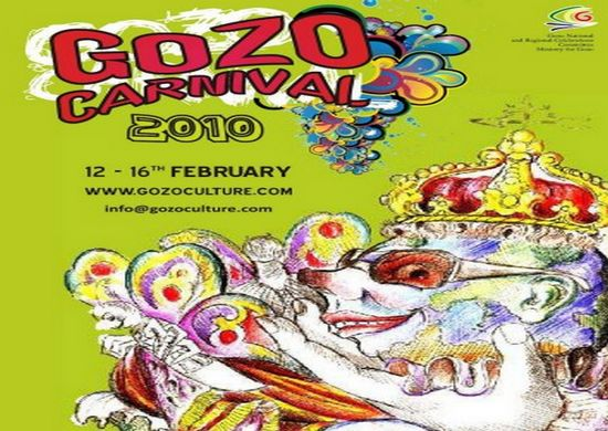 Gozo Regional Carnival celebrations 12-16th February