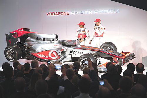 Vodafone Mclaren Mercedes Launches MP4-25