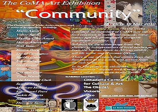 'Community' art and sculpture exhibiton at the Citadel