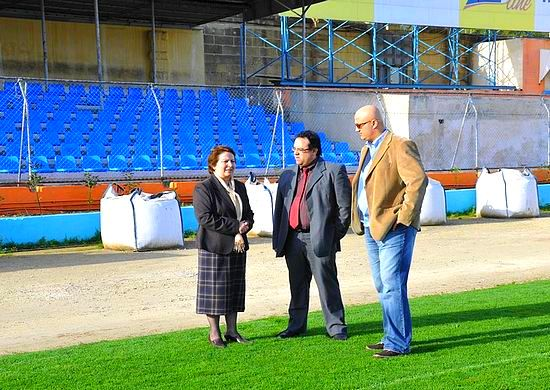 The latest upgrades on Gozo stadium well underway