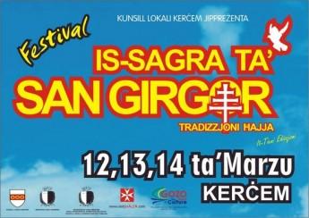 Is-Sagra ta' San Girgor - 3-day cultural festival in Kercem