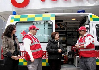 Vodafone supports new ambulance for Gozo Red Cross