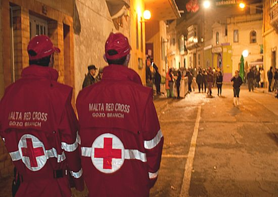 Gozo Red Cross Branch services during the Gozo Carnival