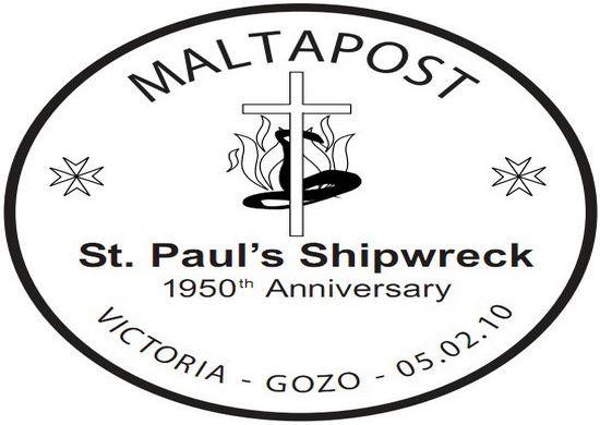 Special Hand Postmark-St Paul's Shipwreck anniversary