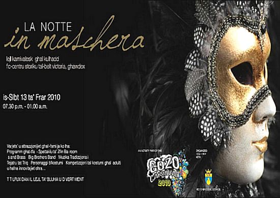 'La Notte - In Maschera' a carnival celebration in Victoria