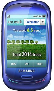 Vodafone introduces first eco-mobile on the market – the Samsung Blue Earth
