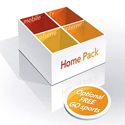 Special offer on Home Pack from GO