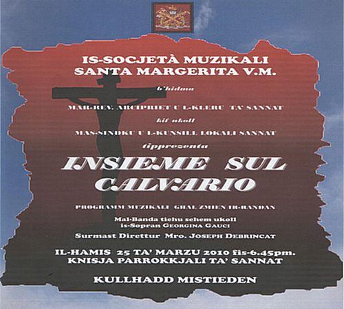 Lentern Concert by the St Margaret Musical Society Sannat