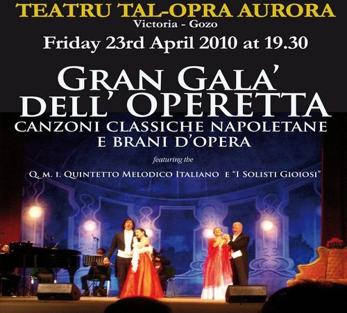Aurora Theatre Opera and Operetta evenings postponed