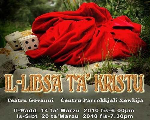 """""""Il-Libsa ta' Kristu"""" - today at the Teatru Govanni, Xewkija"""