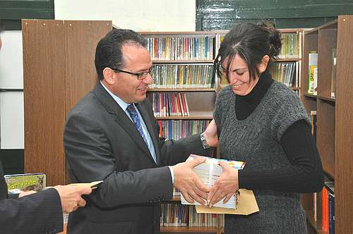 Eleven local councils in Gozo receive more library books