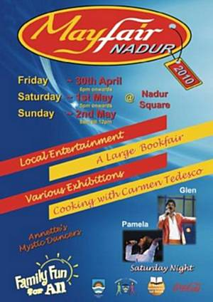 Nadur Annual Mayfair is to be held this coming weekend