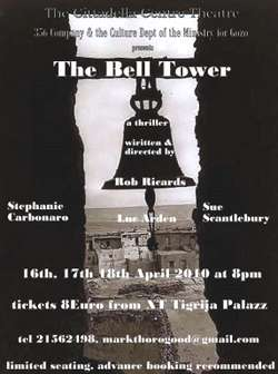 'The Bell Tower' to be performed at the Cittadella Centre