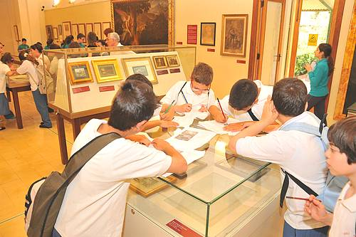 Animated exhibition tours held for Gozitan school students