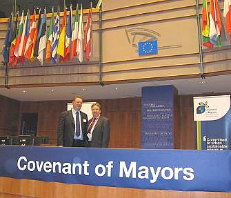 Over 500 European mayors pledge to reduce CO2 emissions