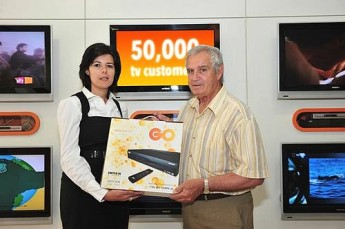 GO tv hits its 50,000th subscriber mark