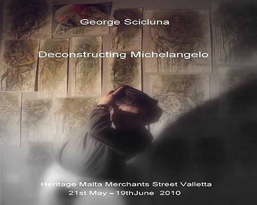Deconstructing Michelangelo Exhibition by George Scicluna
