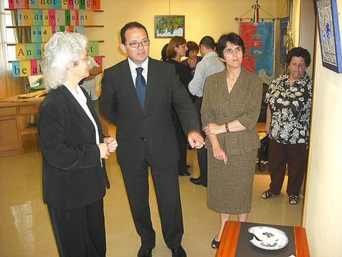 """IDEA"" an exhibition of Mosaic works inaugurated in Nadur"