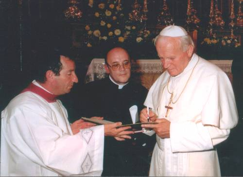 Nuncio commemorates the late Pontiff's visit to Gozo in 1990