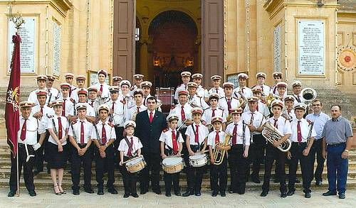 The Prekursur Band Xewkija, Gozo, celebrates 81 years