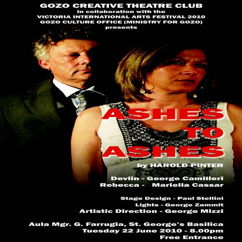 Ashes to Ashes a play with The Gozo Creative Theatre Club