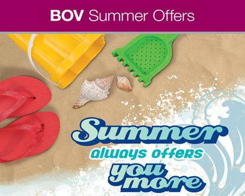 Special Summer Offers for 2010 from Bank of Valletta