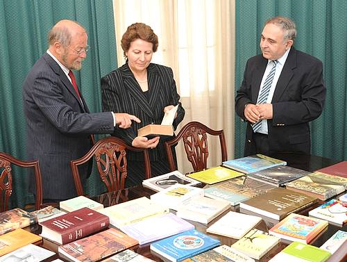 Collection of books presented to the Gozo Lending Library