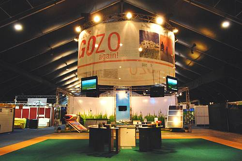 The Gozo Pavilion at the Malta International Trade Fair
