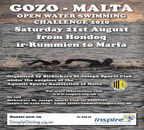 Gozo-Malta Open Water Swimming Challenge 2010