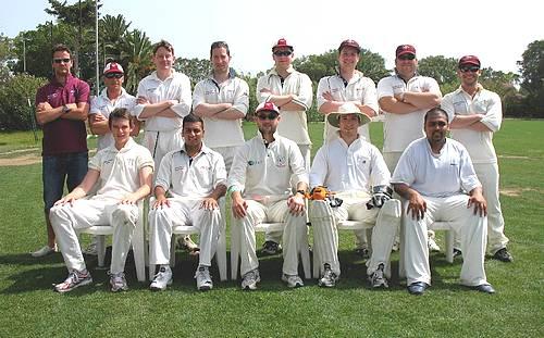 Marsa C.C win against UK touring team Oakhill C.C