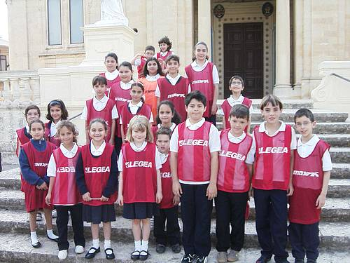 The  Nadur Primary School awarded the Green Flag Award
