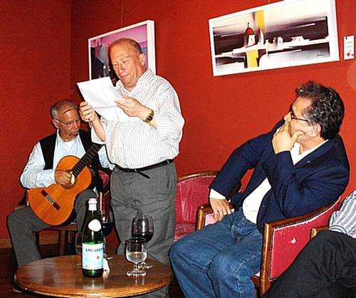 Poetry on Gozo meeting held at Circolo Gozitano in Victoria