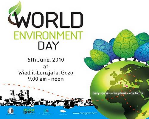 Gozo to celebrate World Environment Day on Saturday