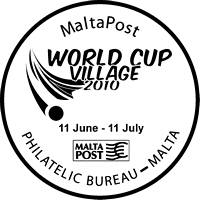Special Hand Postmark – World Cup Village 2010