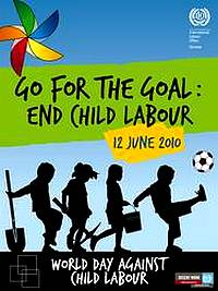 This Saturday marks the World Day against Child Labour
