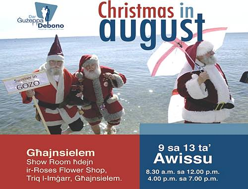 Dar Guzeppa Debono Conference and Christmas in August