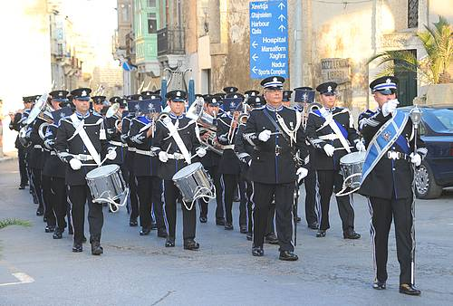 Malta Police Corp hold their annual show in Victoria