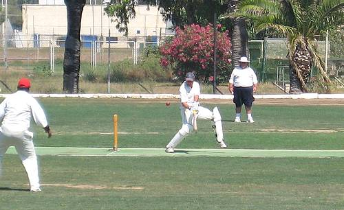 Marsa C.C plays new touring team Lancing Manor C.C
