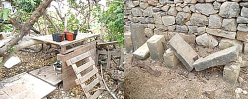 Vandals strike again at the Wied Ghollieqa Nature Reserve