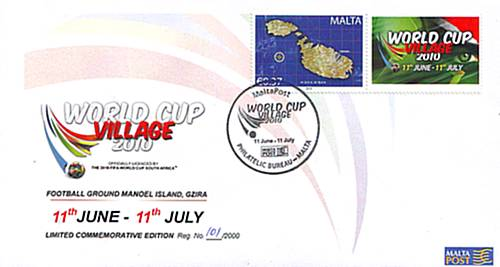 World Cup Village Commemorative Personalised Covers