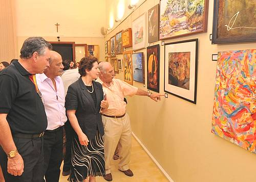 Art Club 2000 exhibition inaugurated at the Gozo Ministry