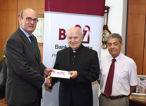 Bank of Valletta renews it long-term support to Caritas