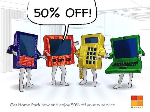 GO's Home Pack offer of 50% off tv service expires soon