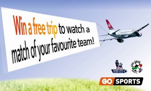 Free trips & football match tickets for GO sports customers